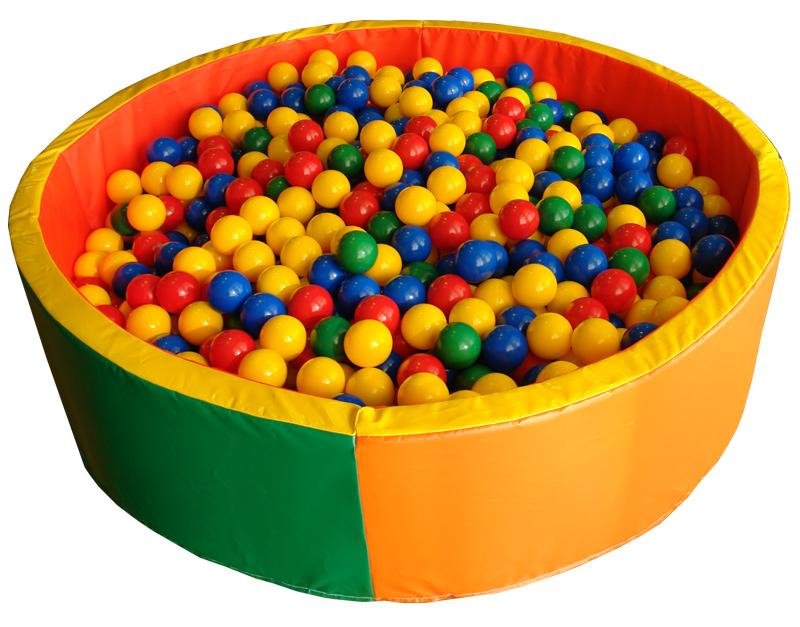 Игрушки батут с шариками